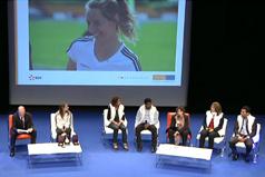 Conference de Marianne Laigneau, DRH Groupe d'EDF animée par Paul-Emmanuel Géry